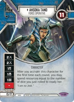 SW Destiny - Ahsoka Tano Force Operative