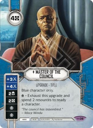 SW Destiny - Master of the Council