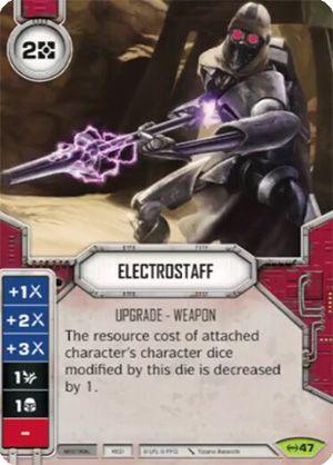 SW Destiny - Electrostaff
