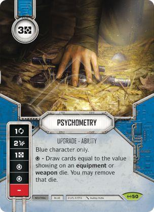 SW Destiny - Psychometry