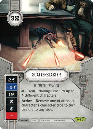 SW Destiny - Scatterblaster