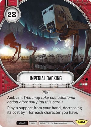 SW Destiny - Imperial Backing