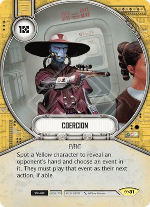 SW Destiny - Coercion