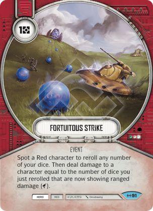SW Destiny - Fortuitous Strike