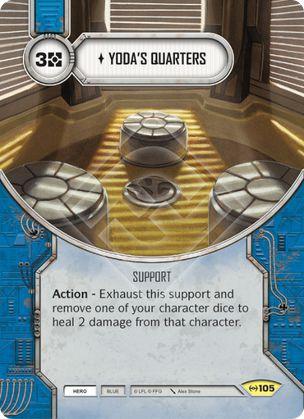 SW Destiny - Yoda's Quarters