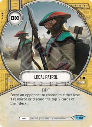 SW Destiny - Local Patrol