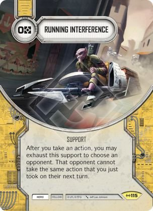 SW Destiny - Running Interference