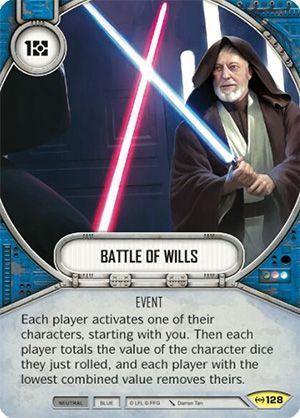 SW Destiny - Battle of Wills