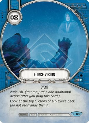SW Destiny - Force Vision