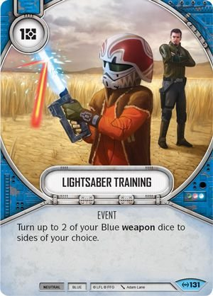 SW Destiny - Lightsaber Training