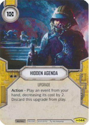 SW Destiny - Hidden Agenda