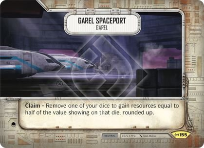 SW Destiny - Garel Spaceport Garel