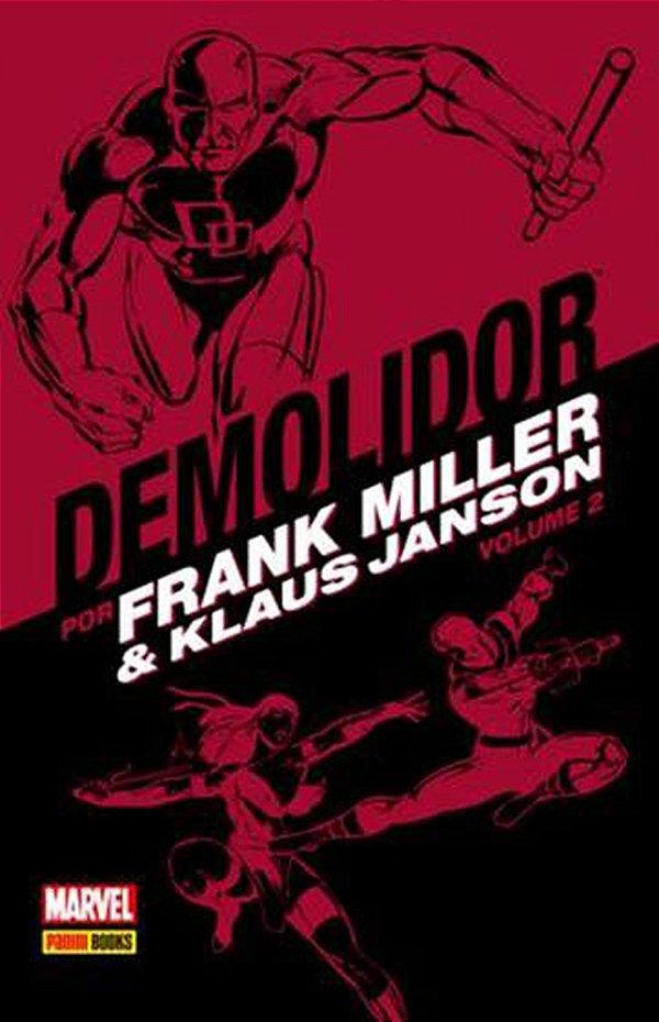Demolidor por Frank Miller e Klaus Janson Volume 2