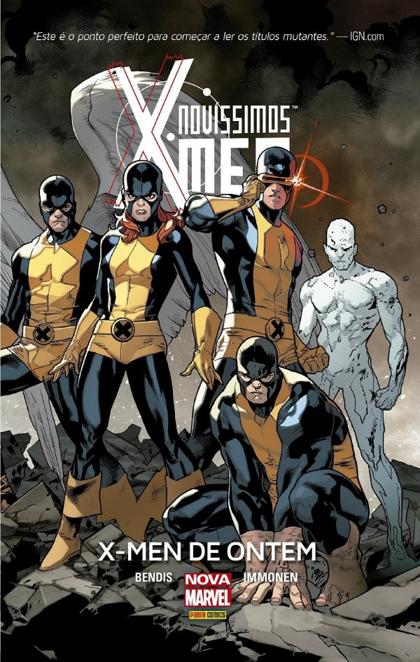 Novíssimos X-men X-men de Ontem