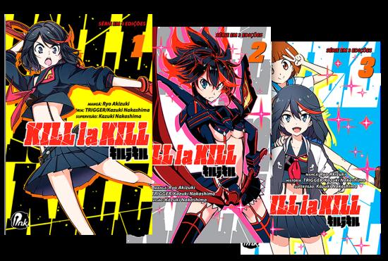 Kill la Kill vol. 1 a 3 (completo)