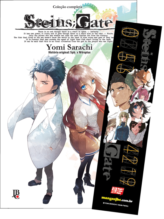 Box Steins Gate vol. 1 a 3 (completo)