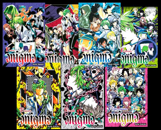 Enigma vol. 1 a 7 (completo)