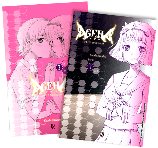 Ageha Volumes 1 e 2 (completo)