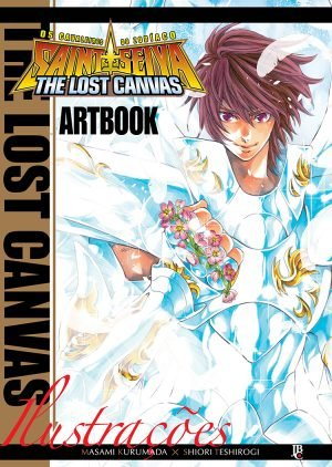 Art Book Cavaleiros do Zodíaco - Lost Canvas Gaiden