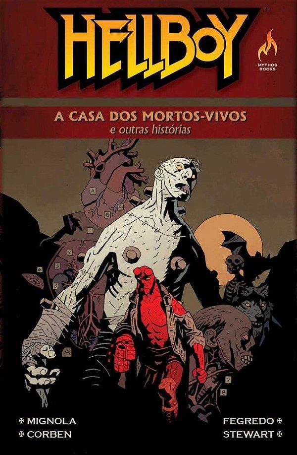 Hellboy A Casa dos Mortos Vivos e Outras Histórias