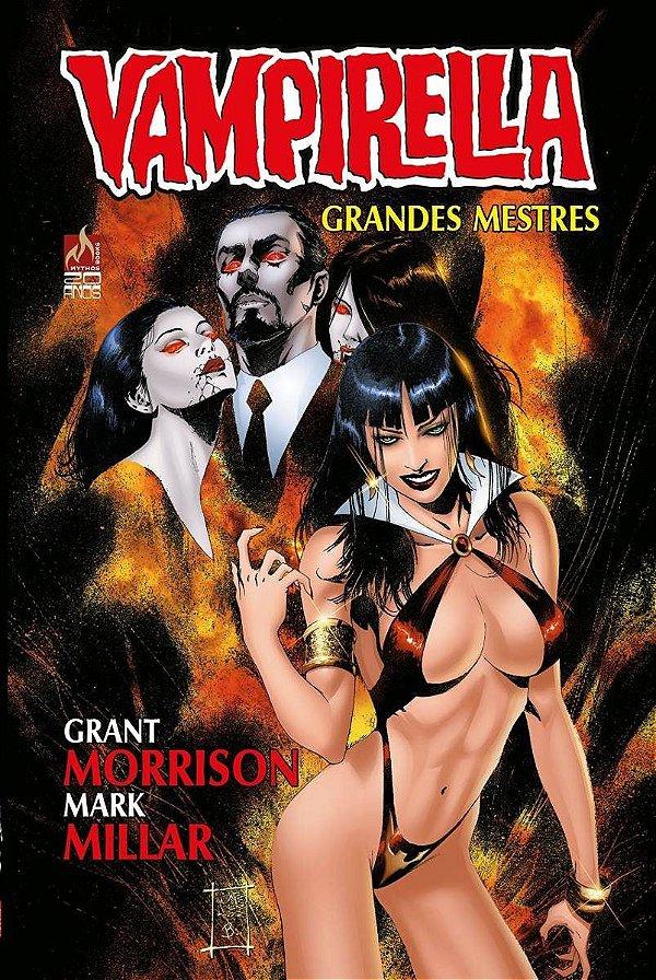 Vampirella Grandes Mestres Grant Morrison (Capa Dura)