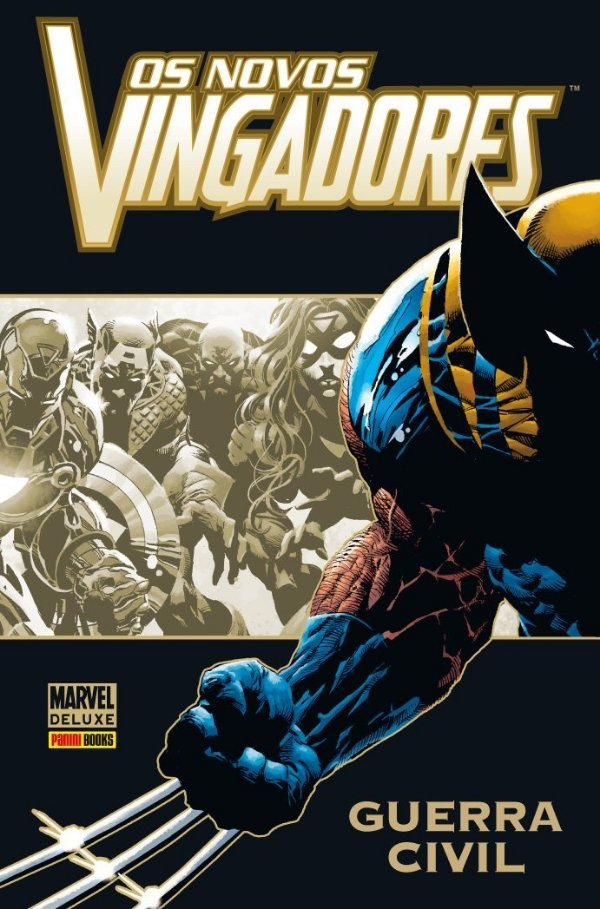 Marvel Deluxe - Os Novos Vingadores Guerra Civil