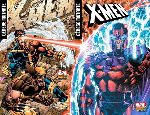 X-men Genese Mutante Completo (1 e 2)