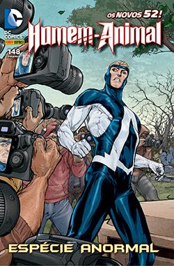 Os Novos 52 Homem-Animal #1