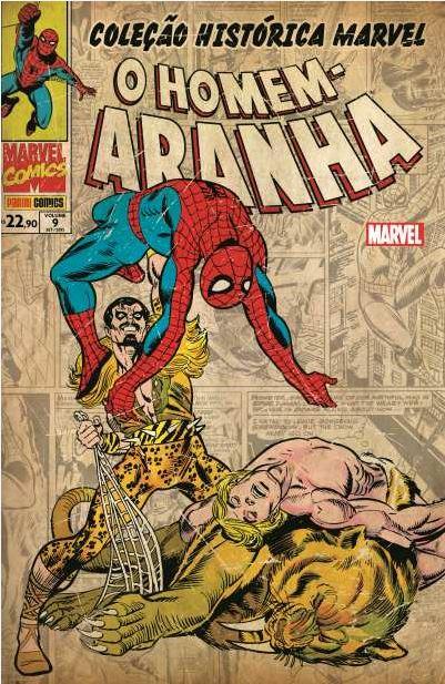 Coleção Histórica Marvel - O Homem-Aranha 9