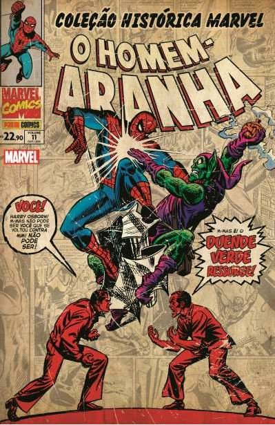 Coleção Histórica Marvel - O Homem-Aranha 11