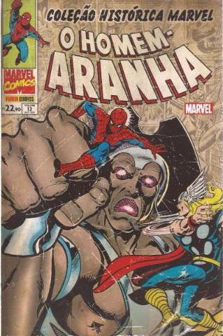 Coleção Histórica Marvel - O Homem-Aranha 12