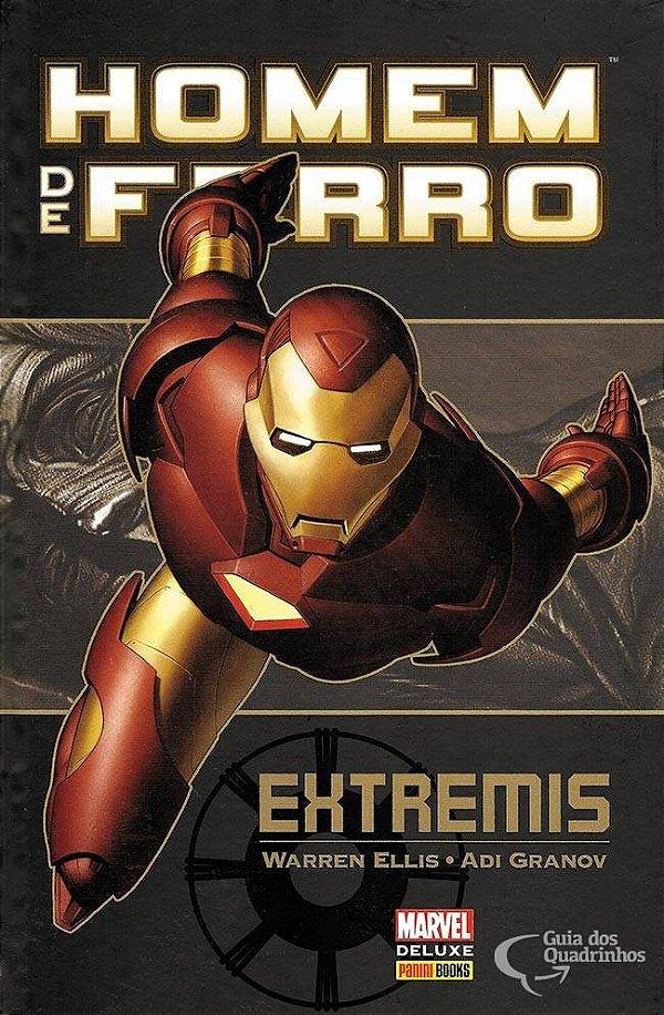 Marvel Deluxe - Homem De Ferro Extremis