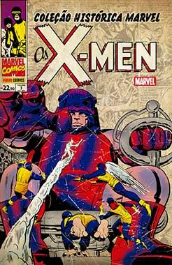 Coleção Histórica Marvel - Os X-men 3