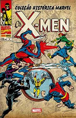 Coleção Histórica Marvel - Os X-men 4