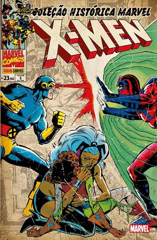 Coleção Histórica Marvel - Os X-men 5