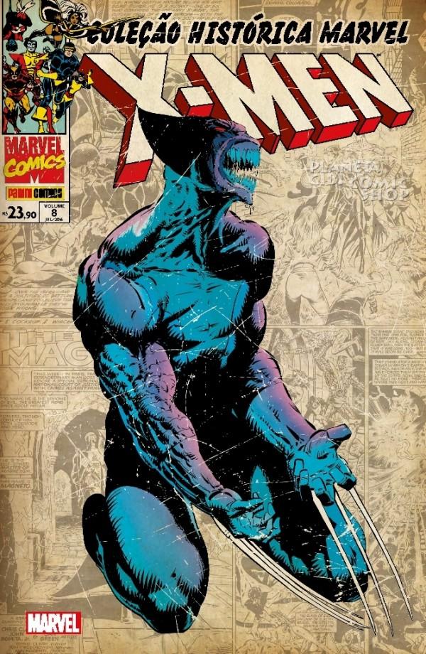 Coleção Histórica Marvel - Os X-Men 8