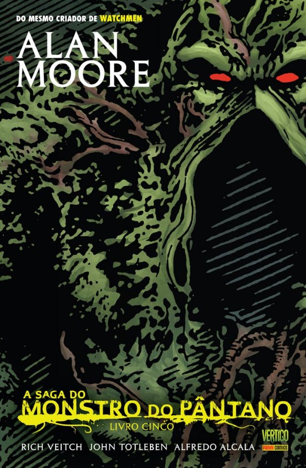 A Saga do Monstro do Pântano Livro 5