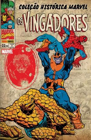 Coleção Histórica Marvel - Os Vingadores 2