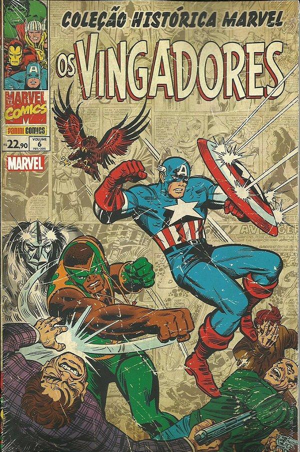 Coleção Histórica Marvel - Os Vingadores 6