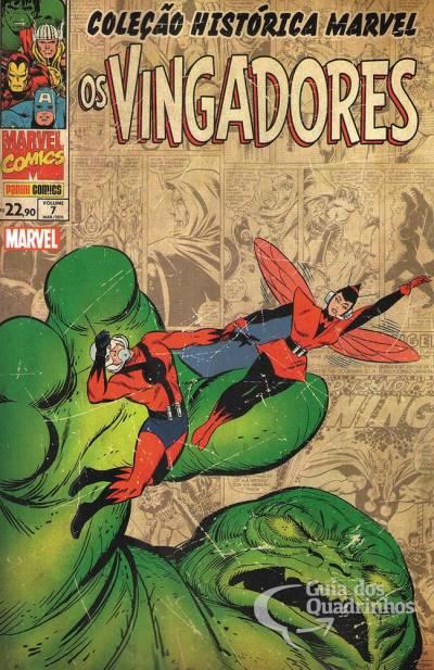 Coleção Histórica Marvel - Os Vingadores 7