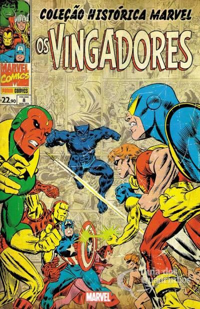 Coleção Histórica Marvel - Os Vingadores 8
