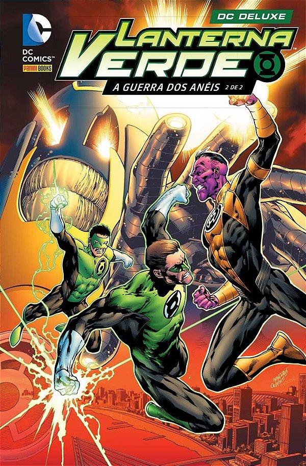 Lanterna Verde A Guerra dos Anéis - Volume 2