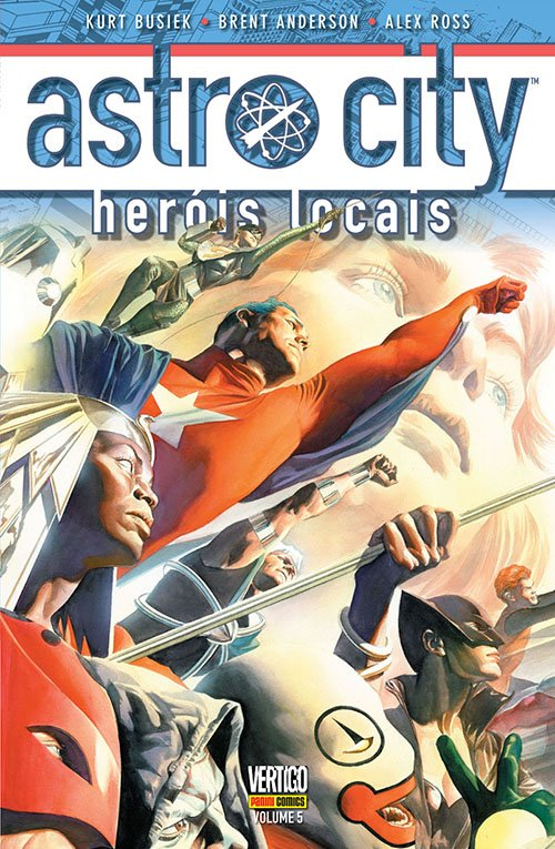 Astro City #5 Heróis locais