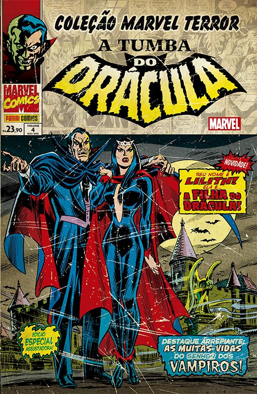 Coleção Marvel Terror - A Tumba do Drácula 4