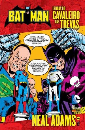 Batman Lendas do Cavaleiro das Trevas - Neal Adams 1