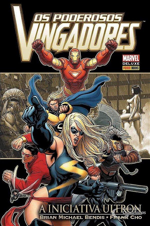 Marvel Deluxe - Os Poderosos Vingadores A Iniciativa Ultron