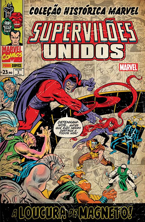 Coleção Histórica Marvel - Supervilões Unidos 2