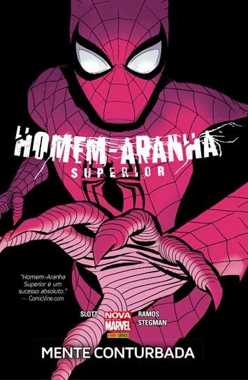 Homem Aranha Superior Mente Conturbada
