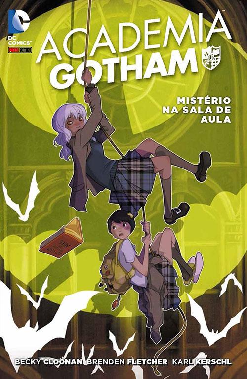 Academia Gotham: Mistério Na Sala De Aula