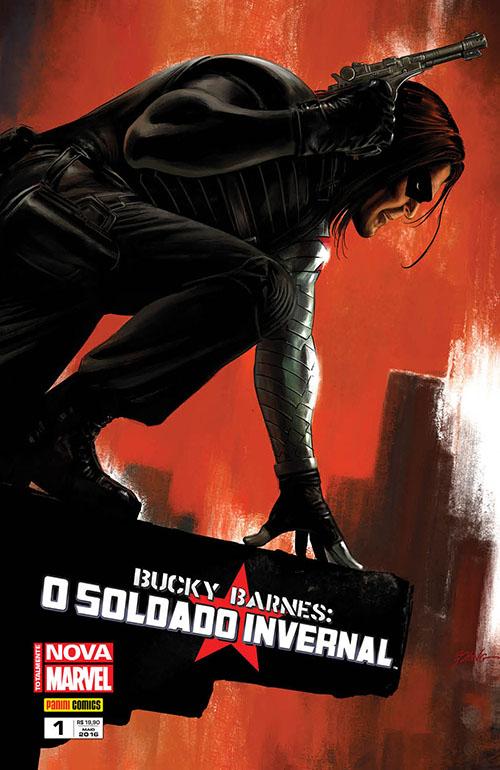 Bucky Barnes Nova Marvel - O Soldado Invernal #1